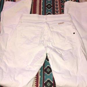 White Q-Baby Jeans
